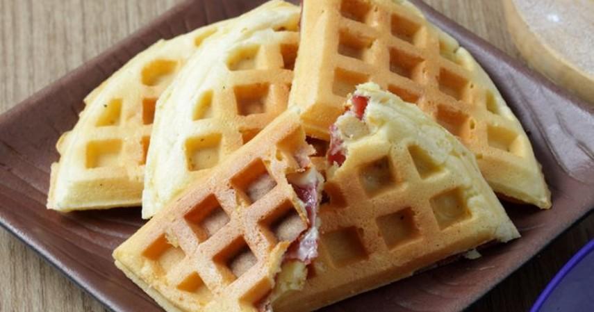 Makanan yang cocok untuk sarapan - Waffle Gandum Utuh