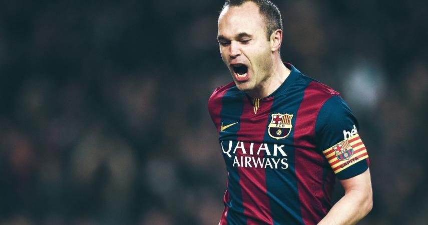 Pemain Bola Terbaik Liga Eropa - Andres Inesta