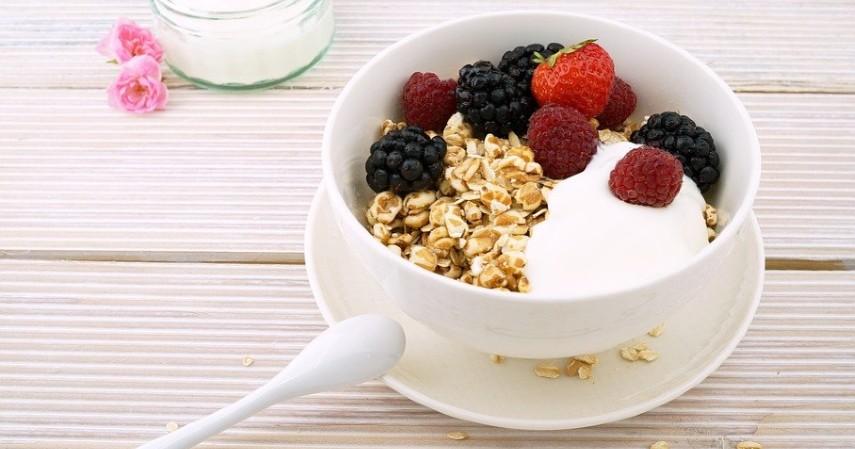 jajanan sehat rendah kalori - Sereal gandum