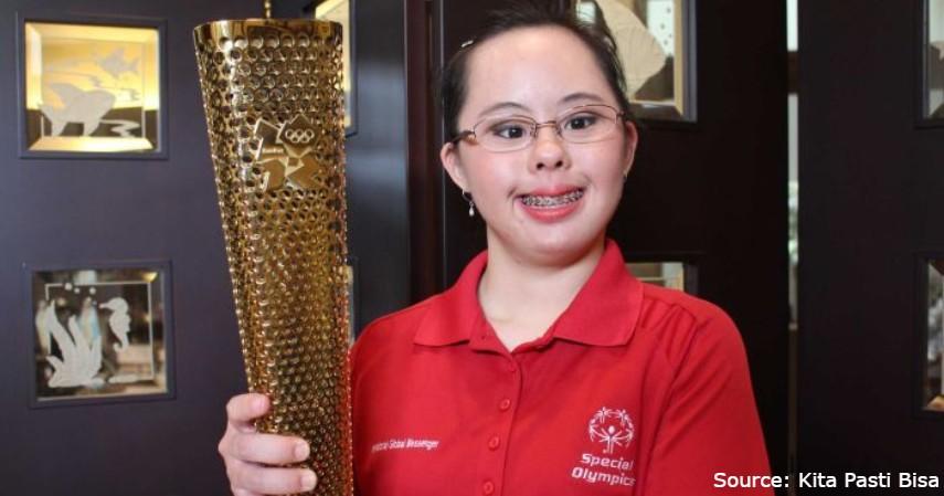 Atlet disabilitas berprestasi - Stephanie Handojo