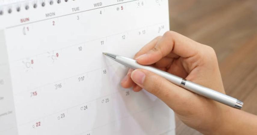 Cara menjaga vitalitas saat puasa - Buat jadwal kegiatan