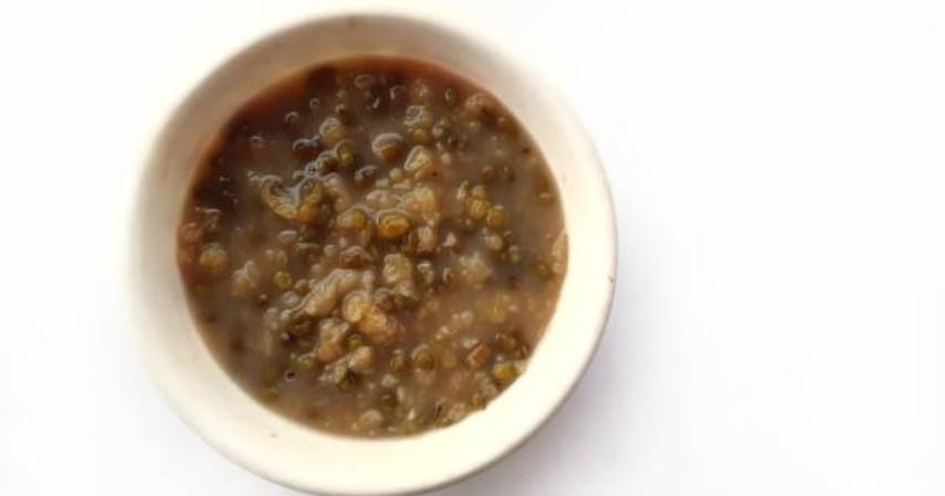 Cemilan sehat saat puasa - Bubur kacang hijau
