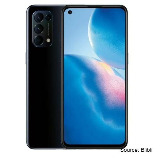 smartphone yang sudah 5G - Oppo Reno 5