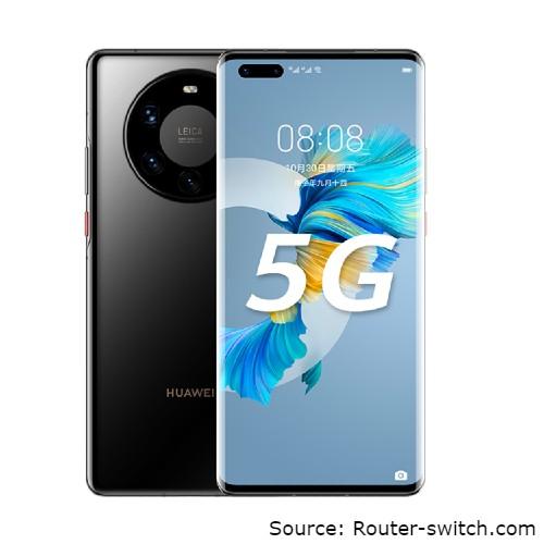 smartphone yang sudah 5G -  Huawei Mate 40 Pro