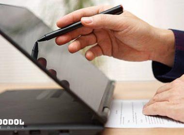 Laptop dengan stylus pen murah