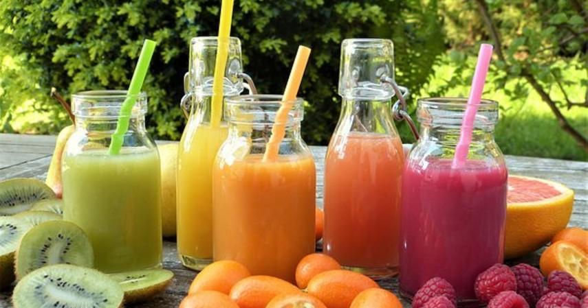 hidangan berbuka puasa sederhana - jus buah buahan