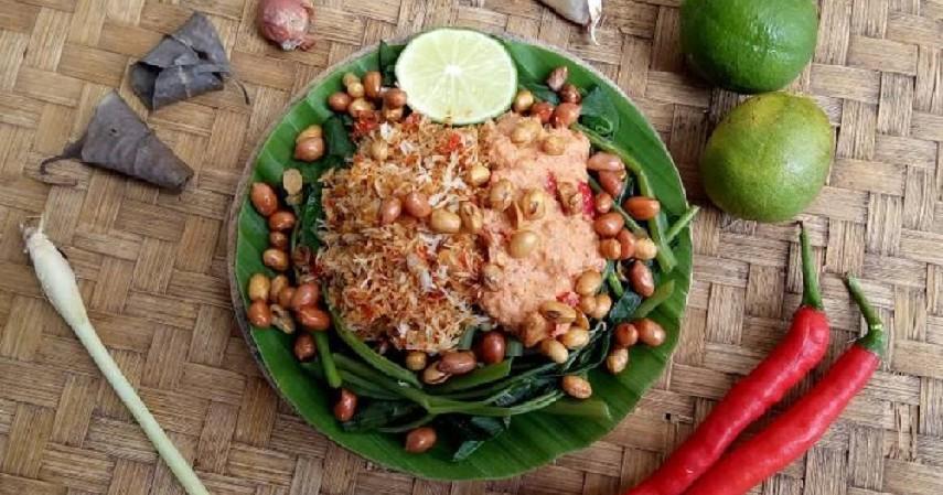 makanan khas bali - Serumbutan