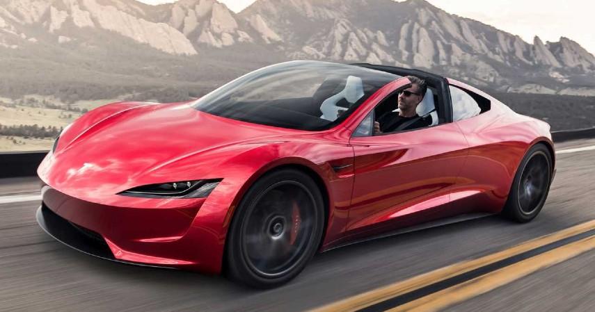 mobil tesla - Tesla Roadster