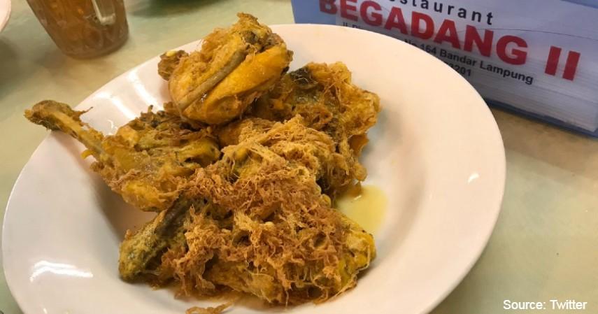 rekomendasi kuliner lampung - Ayam Goreng Begadang