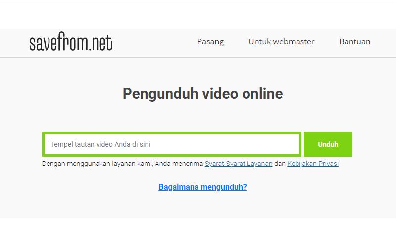 download video tiktok - savefrom.net