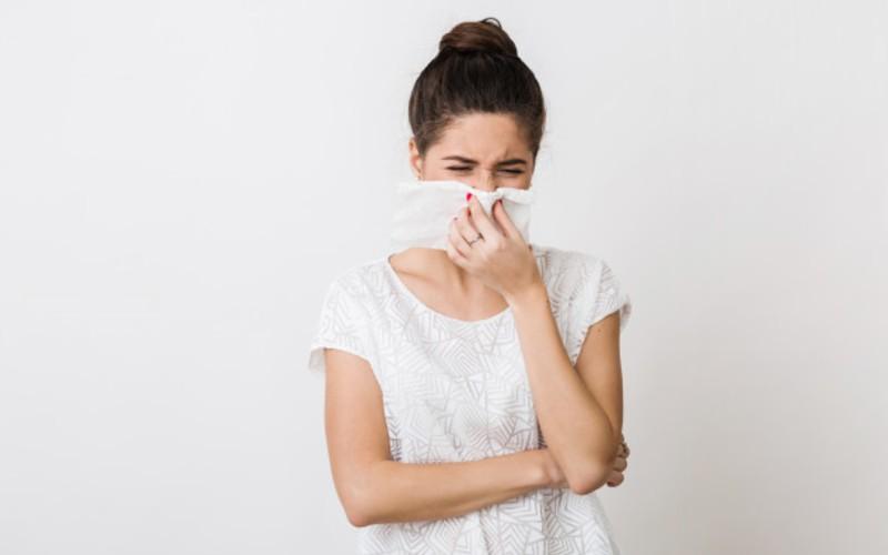 gejala flu - batuk dan bersin