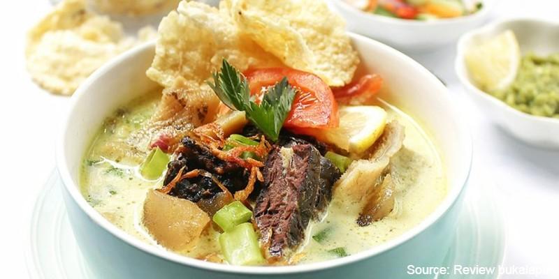 makanan khas betawi - soto betawi