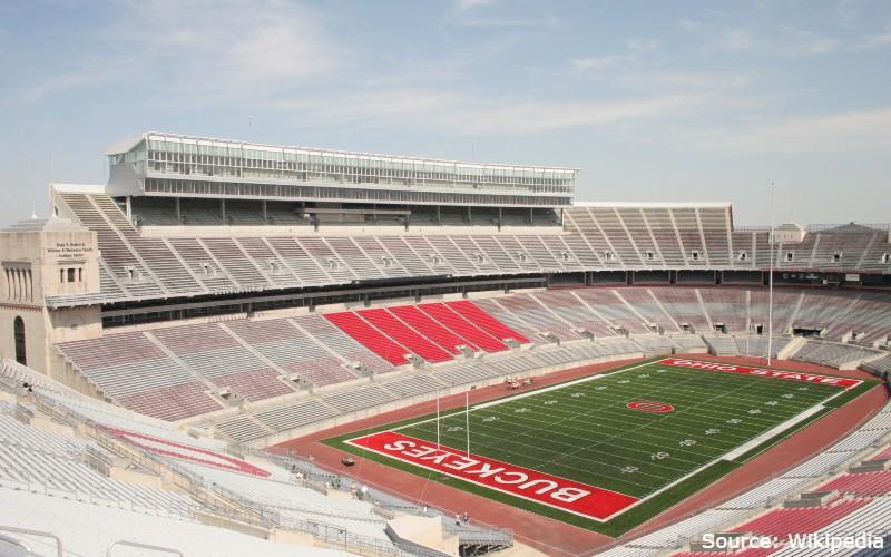 stadion terbesar di dunia - Stadion Ohio – Amerika Serikat -